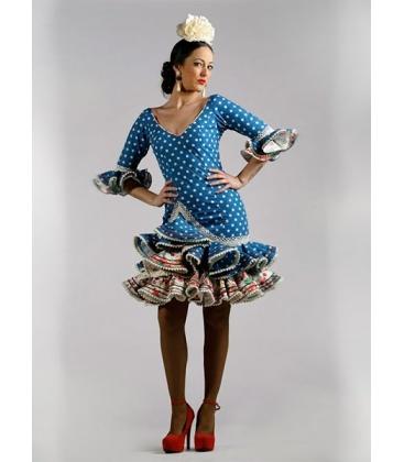 Robe de flamenco courte