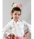 Chemisier de flamenco pour fille