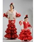Robes de Flamenco Fille Compas