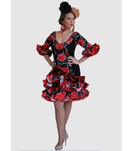 Robes de Flamenco Femme Caña