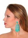 Boucles d'oreilles Flamenco