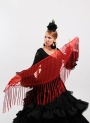 Châle flamenco Plumeti