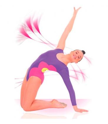 Justaucorps pour la gymnastique rythmique mod. 1827 Fillette