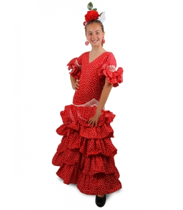 b1b56f31c78b5 Robe de Flamenco Enfant