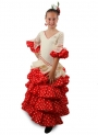 Robe de Flamenco Fille, Jabera