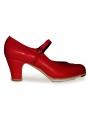 Chaussure de Flamenco en Cuir Mercedes Gallardo