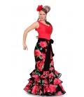 Jupe Flamenco Femme, Modelle Dalia