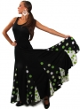 Robe De Danse Flamenco avec sangles croisées