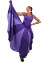 Robe de flamenco avec Godet