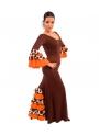 Jupe de flamenco, modèle EF072 Mme