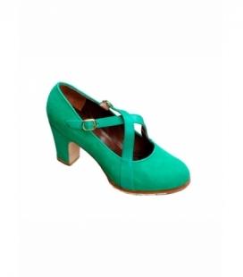 Chaussures de Flamenco Gallardo Croisées