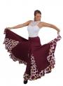 Jupe de flamenco de danse, modèle EF013