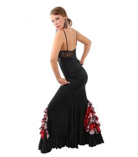 Falda baile mod. EF-218 (punto crespon-punto-crespon)