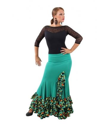Jupe Flamenco mod. EF-220 (punto-crespon)