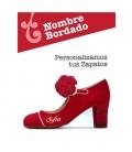 Personnaliser votre chaussure de flamenco