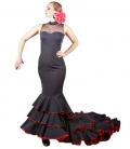 Jupe á Queue, Six Volants, Danse Flamenco