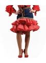 Jupes Courte De Flamenco Pour Femmes, Delia