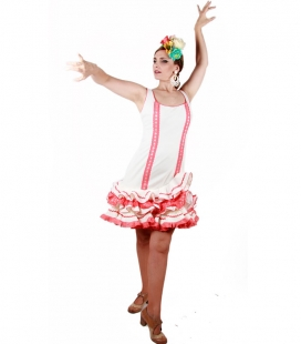 Robe Courte De Flamenco, Taille 44