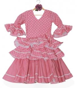 robes de flamenco pour enfant