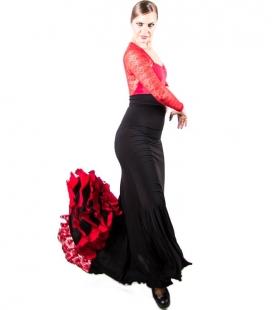 Jupes De Danse Flamenco 3 godets