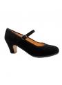 Chaussure de danse flamenco, en daim