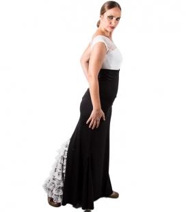 Jupe De Flamenco De Dentelle