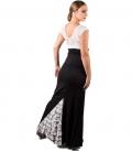 Faldas flamencas con encajes
