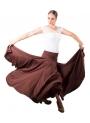 Jupe de Danse Flamenco, Mod: 8 Godet, Taille Normal