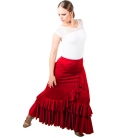 Jupe de Flamenco Taille Normal, Mod. Salon