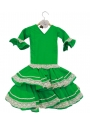 Robes Flamenco Pour Filles, Taille 0