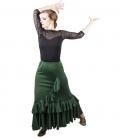 Jupe de Flamenco Taille Normal, Mod. Salon