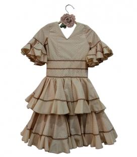 Robe flamenco pour fille